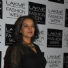 Shabana Azmi was at Lakme Fashion Week Summer Resort 2014 Day 4