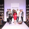 Cast of Fugly at designer Archana Kochhar's show at Lakme Fashion Week