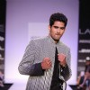 Vijender Singh at designer Archana Kochhar's show at Lakme Fashion Week
