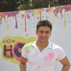 Sangram Singh at the Zoom Holi Party