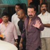 Sanjay Dutt leaves after finishing his parole