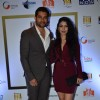 Aftab Shivdasani and his fiance at the NRI Awards 2014