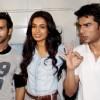 Pulkit Samrat, Sarah Jane Dias and Bilal Amrohi at the Special Screening of O Teri