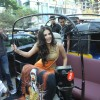 Sunny Leone arrives for a Press Conference of Ragini MMS 2