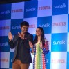 Arjun and Alia perform at the 2 States Press Conference