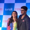 Arjun Kapoor and Alia Bhatt at the 2 States Press Conference
