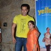 Salman Khan was seen at the Special screening of Marathi film Yellow with the actor of the film