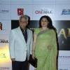 Ramesh Sippy and Kiran Juneja at the launch of Kochadaiyaan first look