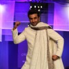 Ranbir Kapoor strikes a pose at the Men for Mijwan fashion show