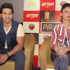 Press Conference to promote their upcoming film 'Main Tera Hero'