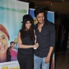 Genelia and Riteish Deshmukh were seen at the Screening of Marathi film Yellow