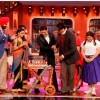 Kapil cuts his birthday cake with Big B