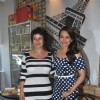 Sonakshi greets Manisha Kirala at the event