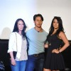 Tiger shroff with his mother and sister at the Trailer launch of Heropanthi