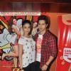 Varun & Ileana promotes their film at cafe and theatres