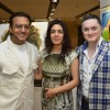 Gulshan Grover was seen at Nawaz Modi Singhania's art show