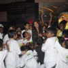 Sonakshi Sinha enjoys with the children at a special screeing of Rio 2