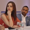 Kalki Koechlin and Rahul Bose at the Announcement