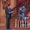 Rajat Sharma and Kapil Sharma on Comedy Nights With Kapil