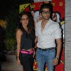 Teejay Sidhu and Karanvir Bohra was seen at Main Tera Hero and Ragini MMS 2 Success Party