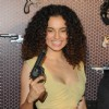 Kangana Ranaut with a gun at Revolver Rani's Press Conference