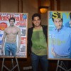 Sidharth Malhotra poses alongsidethe cover of Men's Health and Style