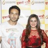 Iqbal Khan and Shraddha Arya at the party as Tumhari Paakhi completes 100 episodes