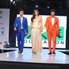 The cast of Purani Jeans at the charity fashion show 'Ramp for Champs'