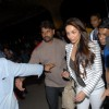 Malaika Arora Khan at Mumbai airport leaving to attend IIFA