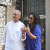Gulzar shows off his inked finger