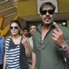 Kajol and Ajay Devgn show their inked fingures