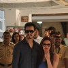 Esha Deol with her husband shows her inked finger