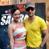 Rajeev Khandelwal & Madalsa Sharma at Waterkingdom to promote Samrat & Co.