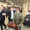 Amitabh Bachchan arrives at the IFFM 2014 at Melbourne
