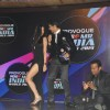 The hosts perform on the Grand finale of 'Mr India 2014'