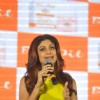 Shilpa Shetty addresses the media at the Bio-Oil Awards