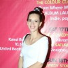 Kalki Koechlin at the launch of Mickey McCleary's new album and music video