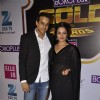 Anita Hassanandani was seen with her husband at the Boroplus Zee Gold Awards 2014