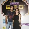 Iqbal Khan and Shraddha Arya were seen at the Boroplus Zee Gold Awards 2014