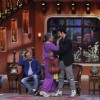 Dadi greets Akshay on Comedy Nights With Kapil