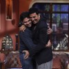 Akshay Kumar Hugs a fan on Comedy Nights With Kapil