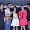 Sajid, Randeep, Genelia  and Riteish at Karan Johar's Birthday Bash