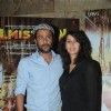 Abhishek Kapoor and Pragya Yadav at the Filmistaan special screening