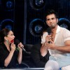Karan Tacker charms Madhuri at the Launch of Jhalak Dikhhla Jaa Season 7