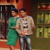 Esha Gupta and Kapil Sharma on Comedy Nights with Kapil