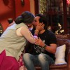 Dadi gives a shagun ki pappi to Saif on Comedy Nights with Kapil