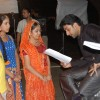 Anandi, Jagdish and Sugna with Abhishek Bachchan in Balika Vadhu