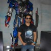 Rannvijay Singh at the Unveiling of Transformers 4 lead robot Optimus Prime