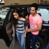Alia Bhatt and Varun Dhawan at the metro station
