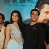 Jacqueline Fernandes and Salman Khan at the Trailer Launch of 'Kick'